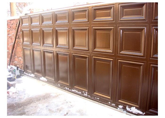 филенчатые ворота в москве